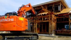 107.解体工事の中でも比較的容易に作業ができるのが建築解体木造